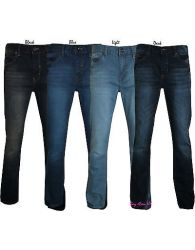 Mens Stretch Jeans Straight Leg Denim Supreme Quality Branded Malay 32'' to 42''