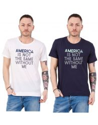 Mens Women Casual T-Shirt Printed Top Crew neck Regular Tees Unisex Shirt M-XXL