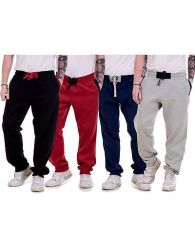 Mens Fleece Joggers Branded Bottoms M-XXL